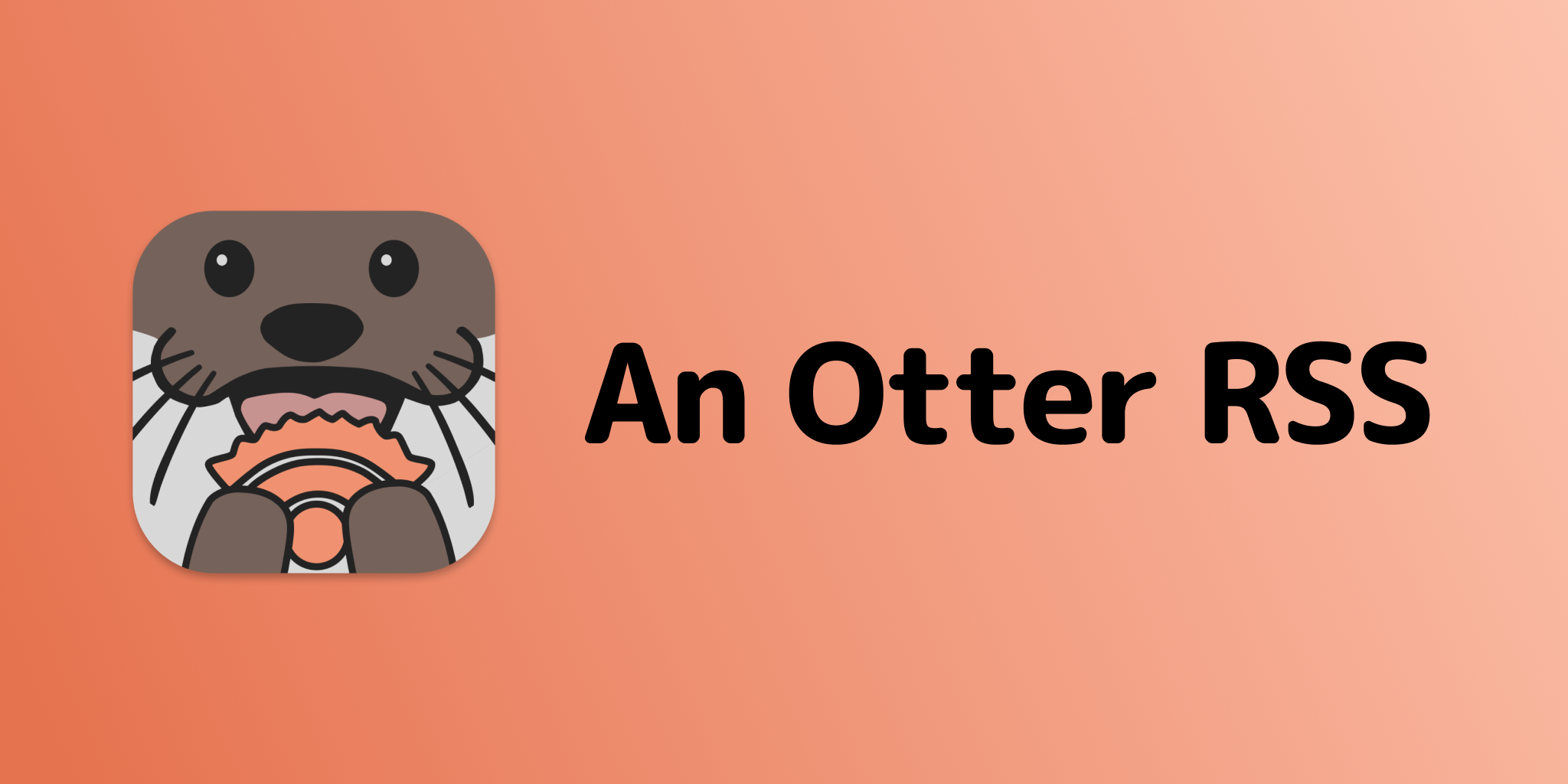 Launch Announcement: An Otter RSS Reader for iOS and macOS